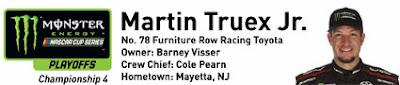 #MENCS Ford Championship Weekend at Homestead-Miami Speedway - Martin Truex Jr.