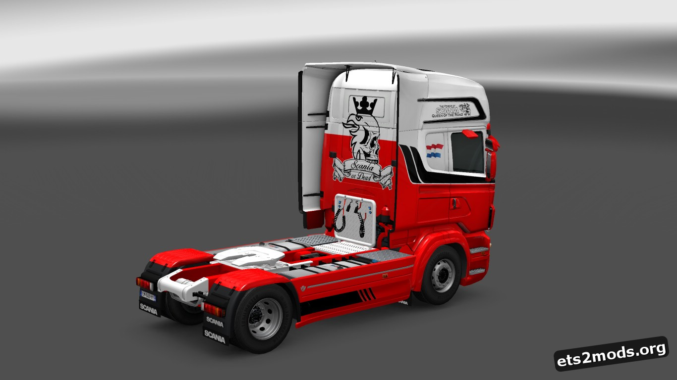 Scania RJL Holland Logistics Skin