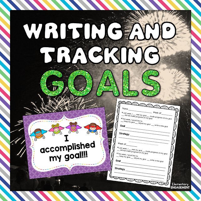 Free goal tracking sheets and posters are available on this post!