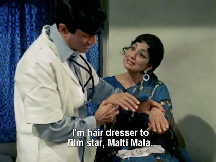 I'm hairdresser to film star, Malti Mala.