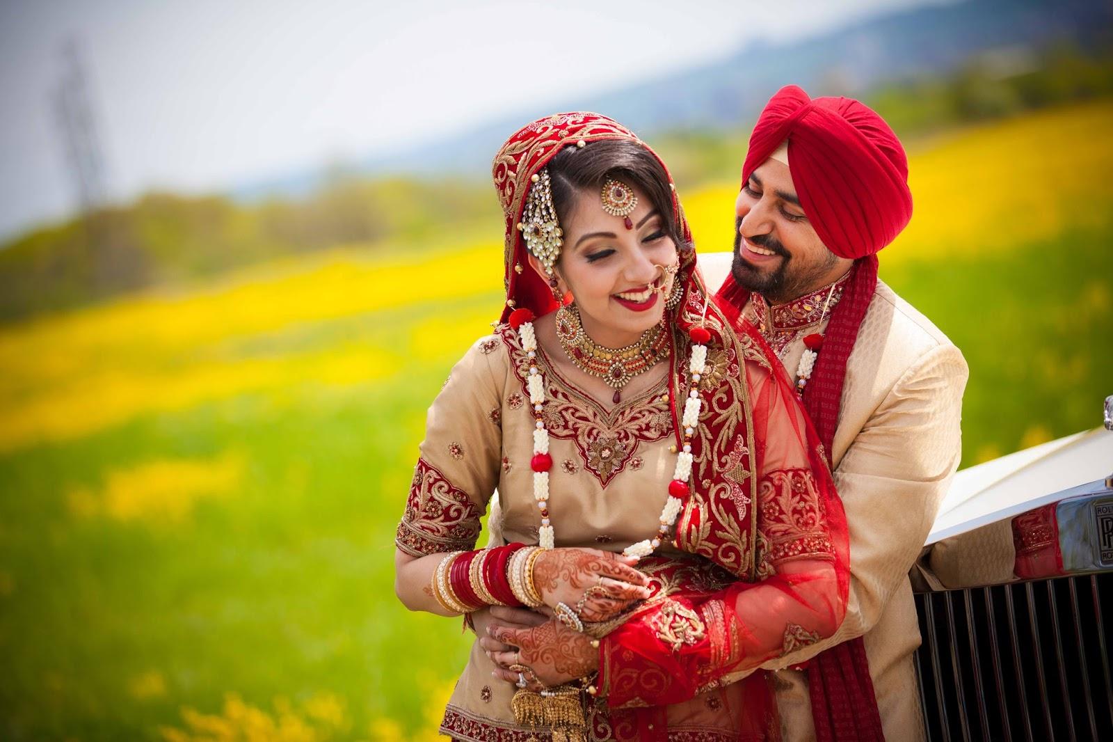 10 Beautiful Punjabi Couples Wedding Photography ...