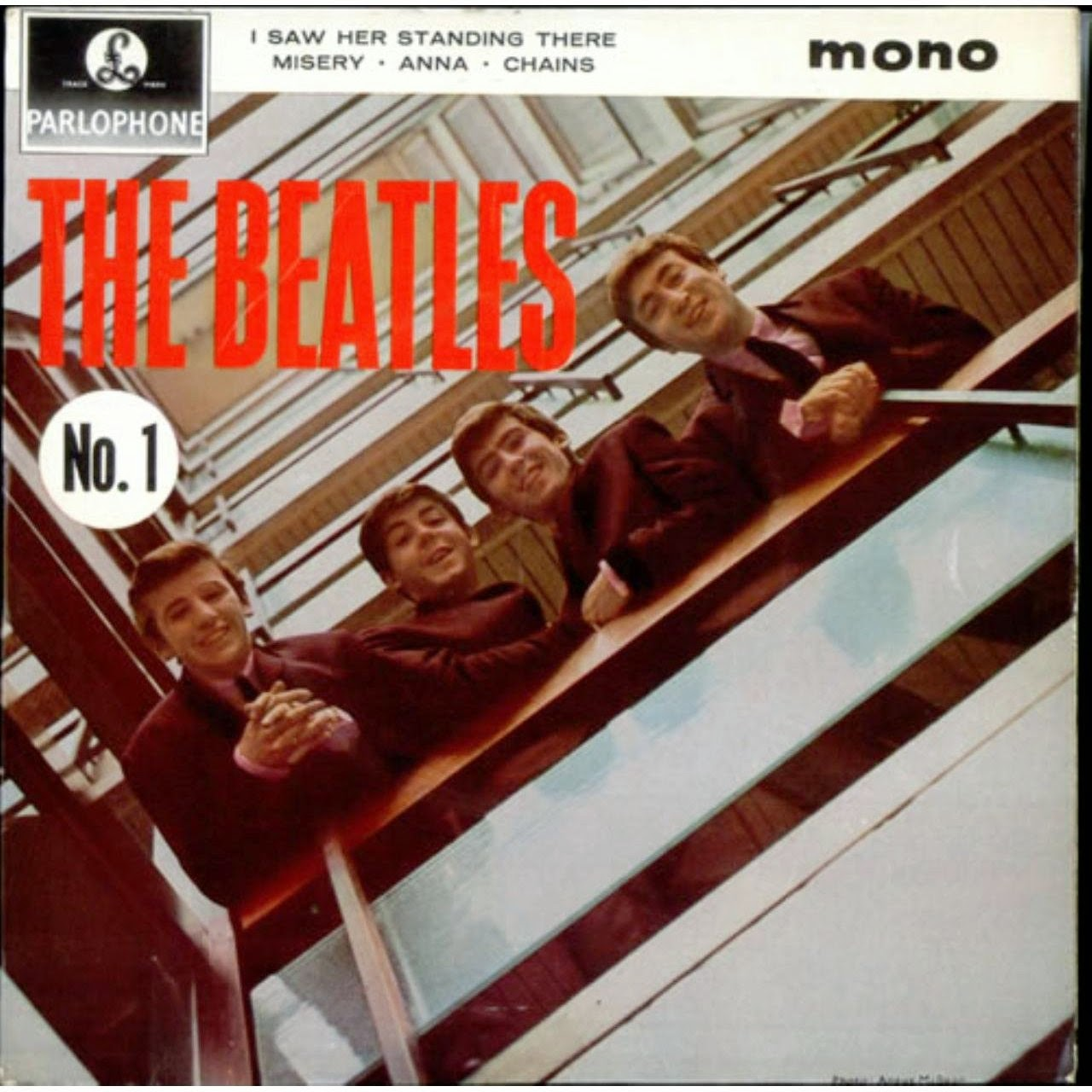 The Daily Beatle Album Covers Please Please Me