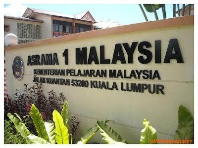 Permohonan Kemasukan Tingkatan 1 Ke Asrama 1Malaysia (A1M) 2018