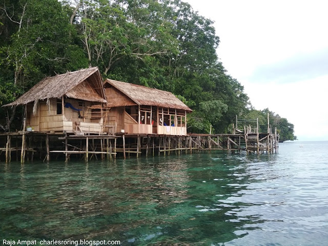 Holiday in Raja Ampat of Indonesia
