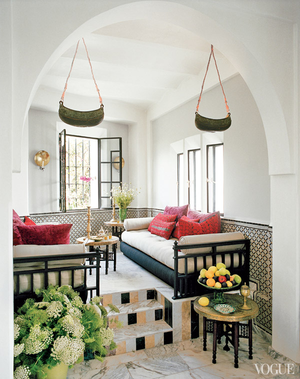 Interiors Bruno Frisoni, Morocco This is Glamorous