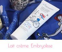 Lait-crème concentré d'Embryolisse