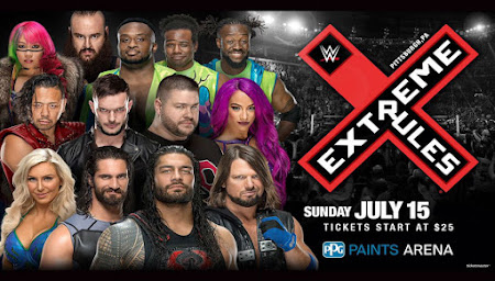 Watch Online English TV Show WWE Extreme Rules 15th July 2018 300MB DVDRip 720 or 480P Free Download At WorldFree4u.Com