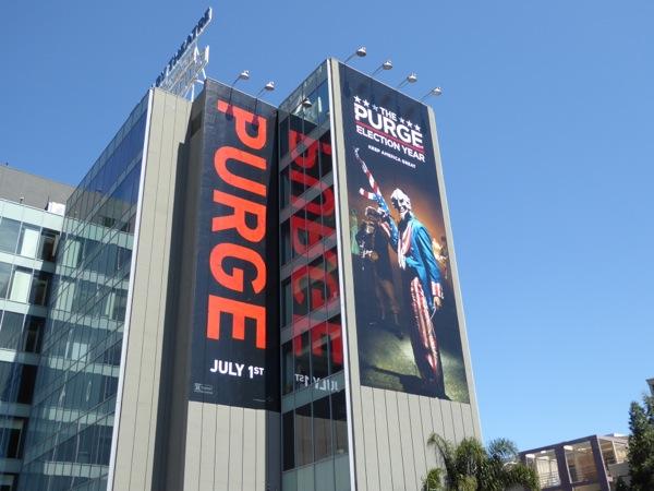 Purge Election Year film billboard