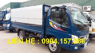 Xe Thaco Ollin 345 tải trọng 2.4 Tấn Hải Phòng