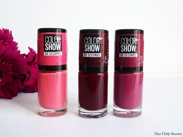 nayant jamais assez de vernis ongles le fait que maybelline ai dcid de sortir des nouvelles teintes de vernis de sa trs clbre collection color show - Vernis Color Show