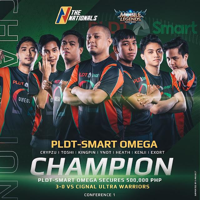 PLDT-Smart Omega Team
