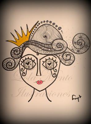 ilustraciones lola mento, lola mento, dis de la mujer, cuadros decorativos, cuadros originales