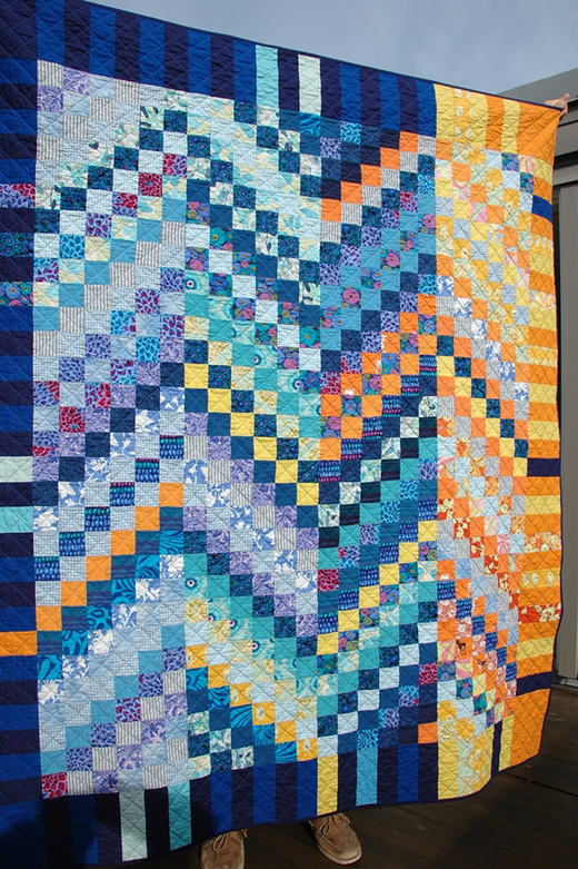 The Incredible Scrappy Bargello Quilt Free Tutorial