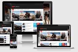 Hot Games Gaming Responsive Blogger Template Free Download