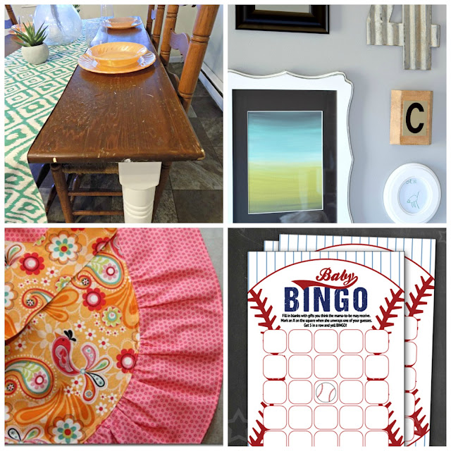 Talented Tuesday Link Party #72: Hostess Projects - One Mile Home Style