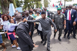Calabar agog as Acting President Yemi Osinbajo visits (PHOTOS)
