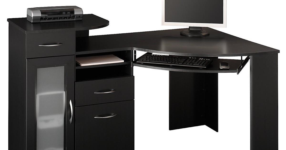 Black Desk Black Corner Desk