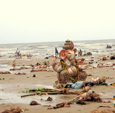 celebrate environment friendly Ganesh Chaturthi