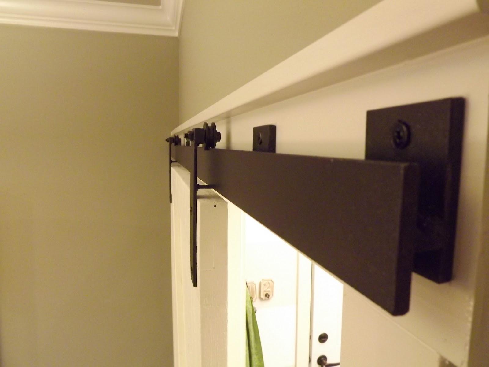 Door Track For Barn Style Door Addition Pinterest