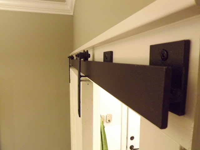 Barn Door Done!!!! - Barn Door Track System