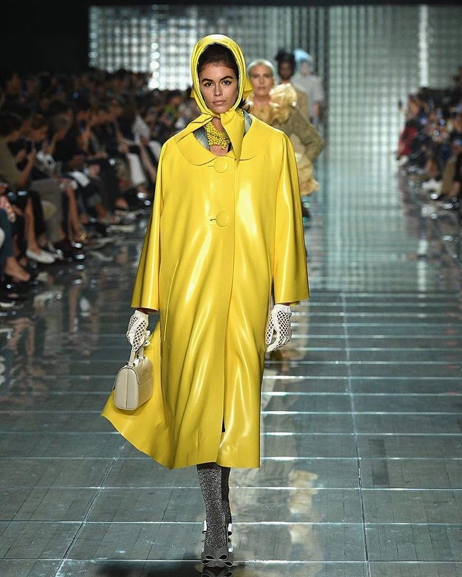 kaia gerber for marc jacobs spring '19 rtw #nyfw