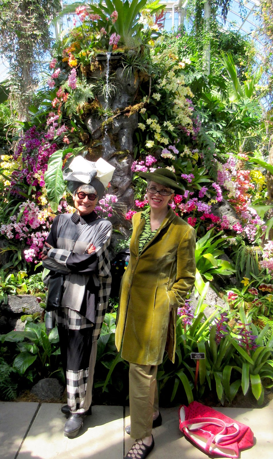 A Visit To The Orchid Show At The New York Botanical Garden