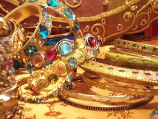 Indian/Bollywood inspired bangles and cuffs