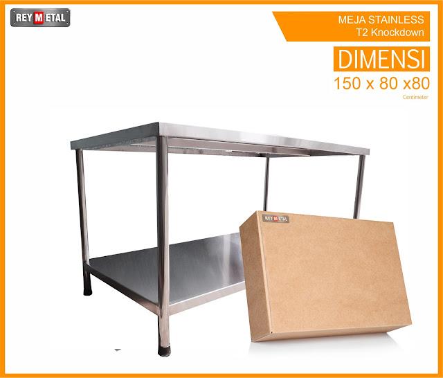 Harga Meja Dapur Stainless Steel Murah dan Bagus