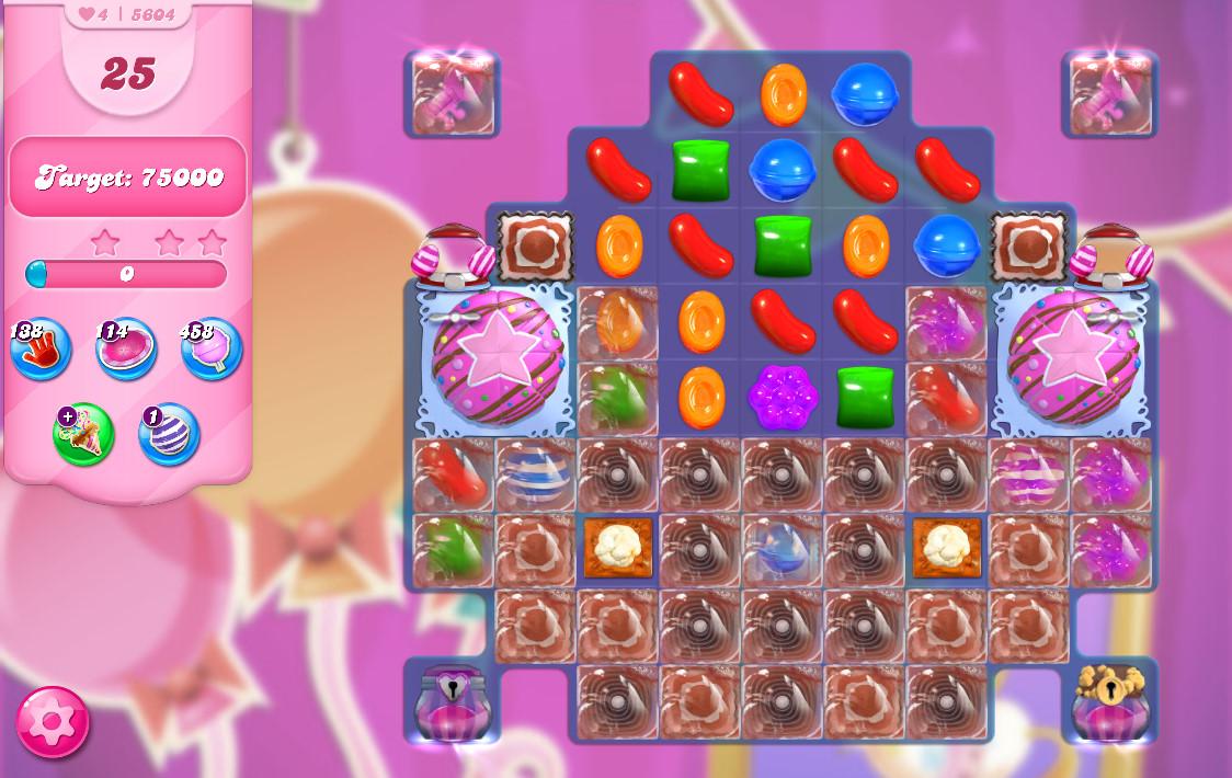 Candy Crush Saga level 5604