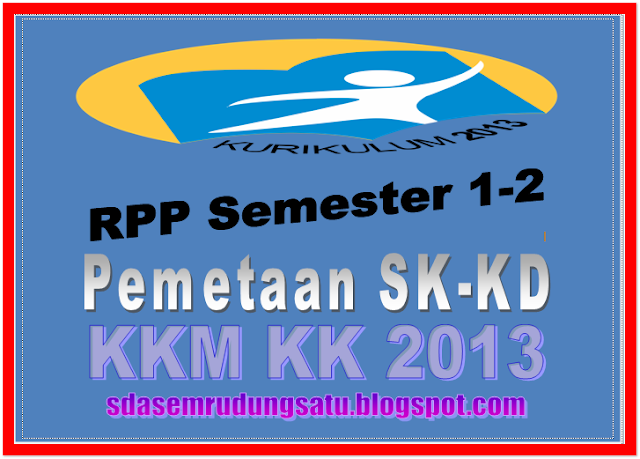RPP,Pemetaan SD-KD, KKM Kelas VI [Kurikulum 2013] Update