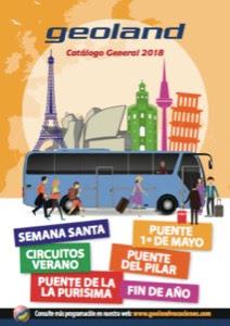 Geoland Catálogos Circuitos de viajes Europa 2018
