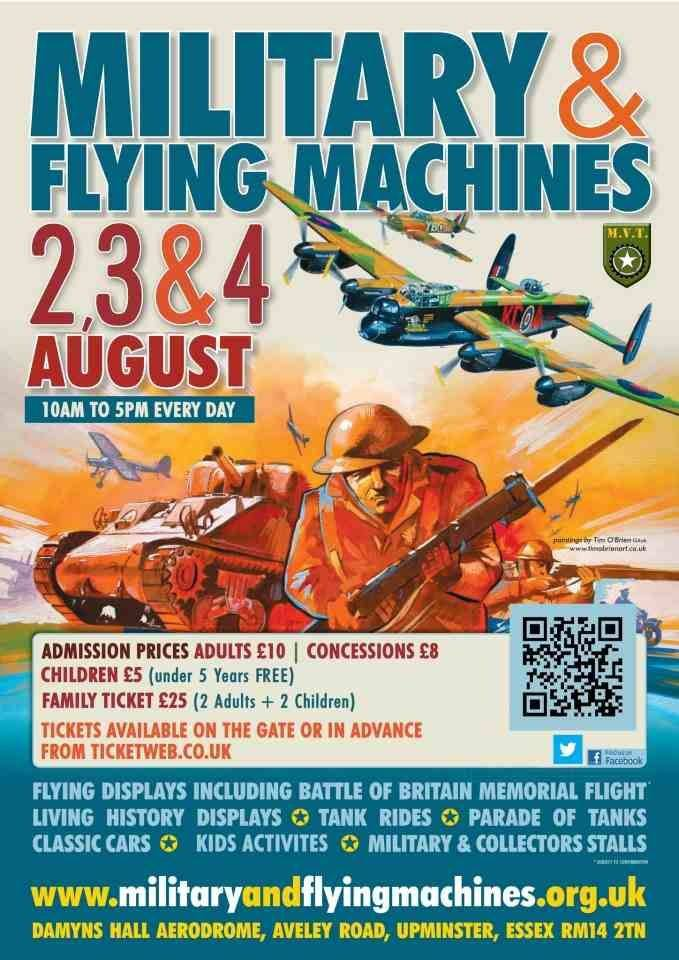 Military & Flying Machines Show, Essex