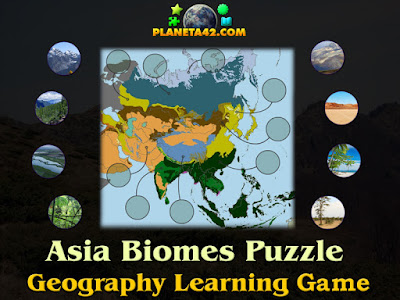 Asia Biomes