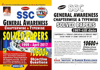 Kiran SSC General Awareness Chapterwise Pdf Download