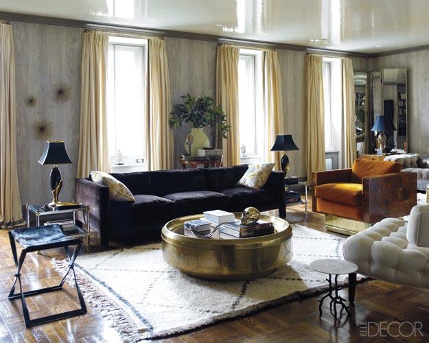 Noir blanc un style for Hotel elle decor