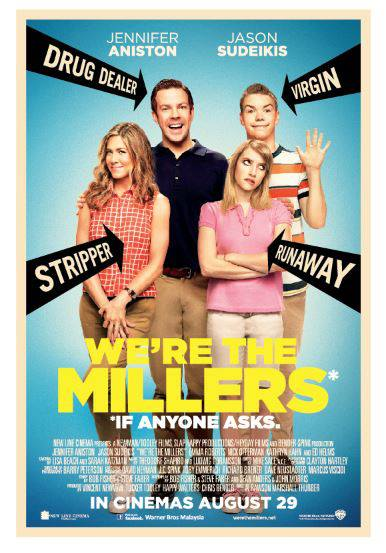 We're The Millers (2013) Download In Hindi HEVC 100MB 3GP Mobile