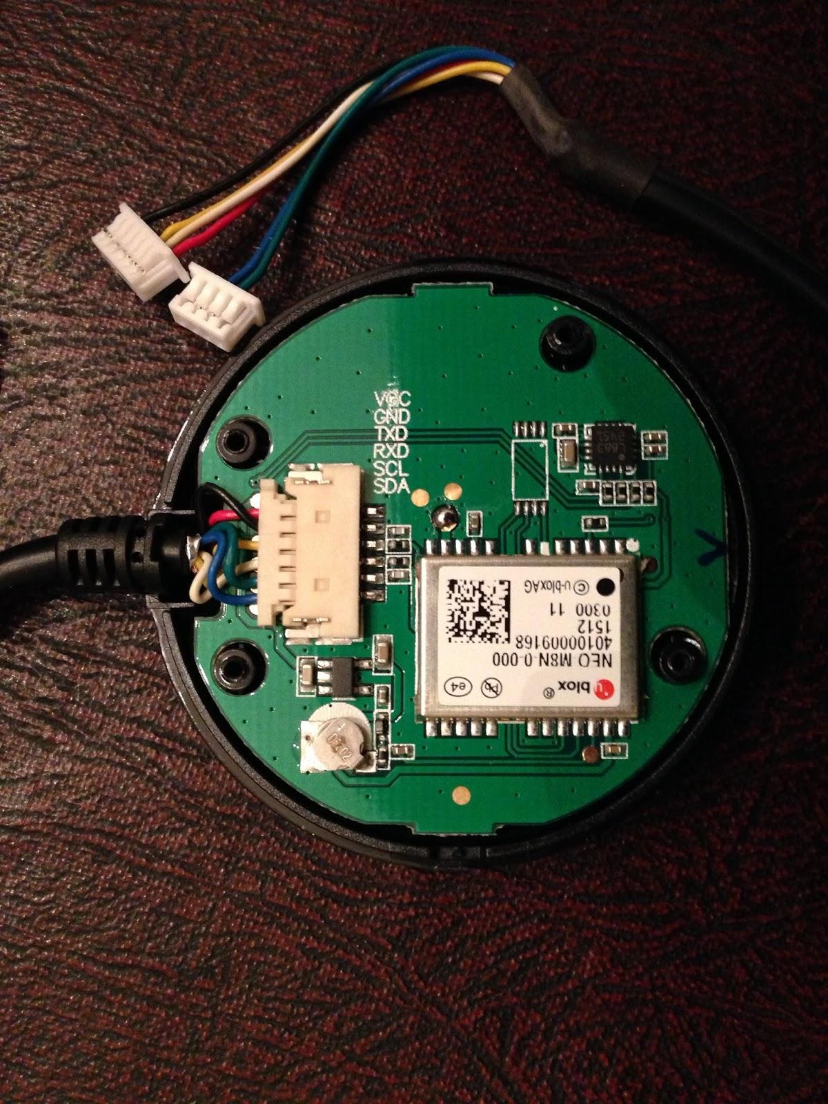 Quadcopter-Robotics: Two uBlox GPS & Compass combo-modules
