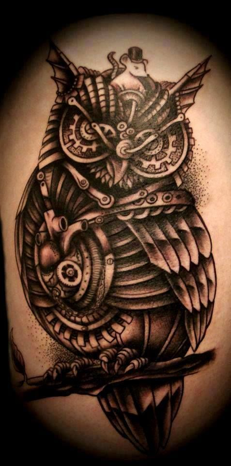 Creative Steampunk Tattoo Ideas