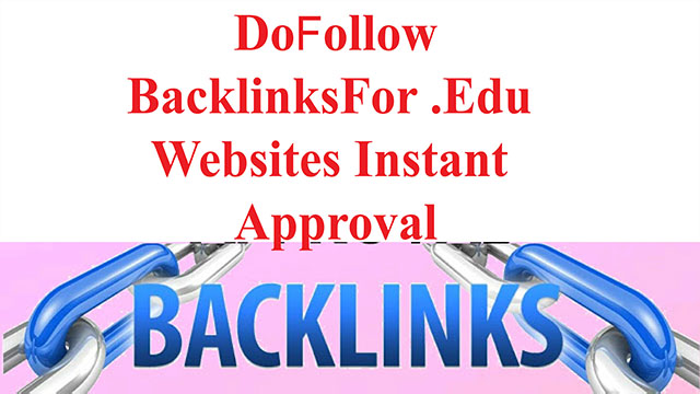Instant approval free do follow comment  profile backlinks from edu websites 2019 bangle