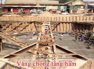 Quy trinh thi cong vang chong tang ham tai HA NOI