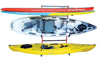 portable kayak and paddleboard combo stand
