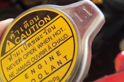 Tutup Air Radiator (Jangan Asal Ganti)