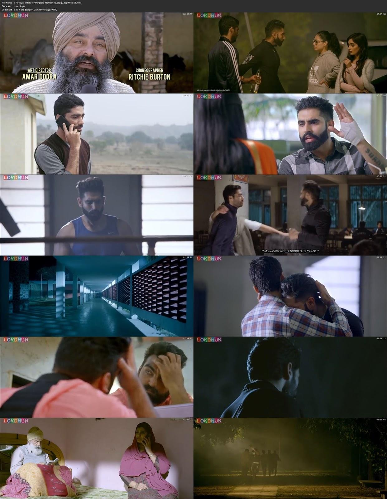 Rocky Mental 2017 Punjabi 450MB WEB DL 480p at movies500.info