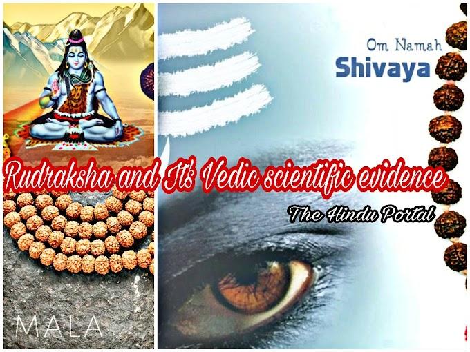 Rudraksha Mala and its characteristics, and its function during chanting 'Om Namaha Shivaya'