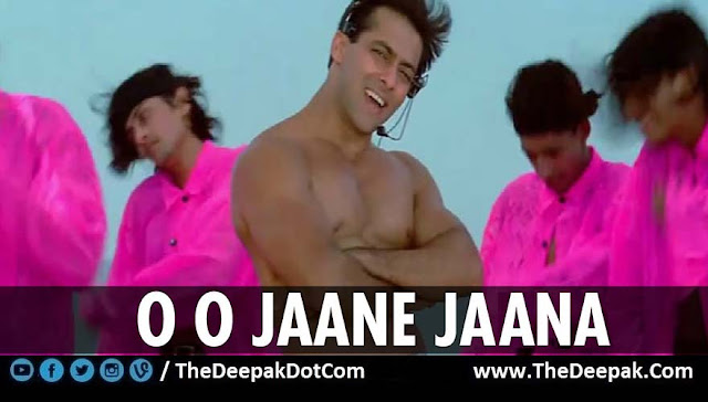 O O Jaane Jaana on Guitar with Salman Khan