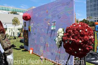 Aqua Teen Hunger Force Memorial wall