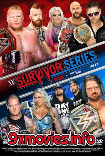 WWE Survivor Series 2017 PPV WEBRip 480p x264 850mb