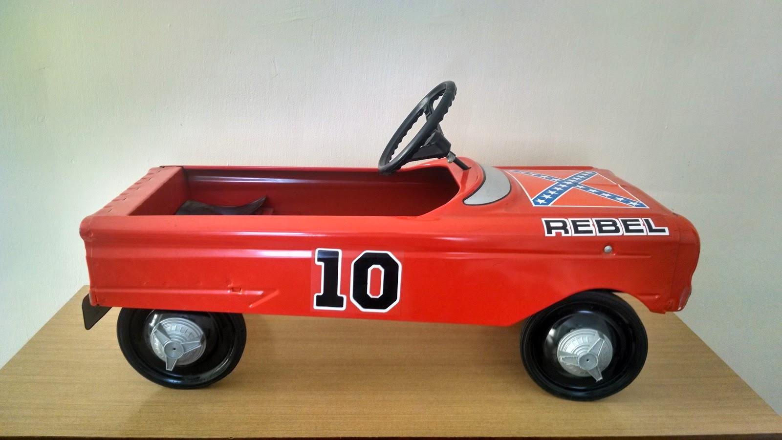 Dukes Of Hazzard Pedal Car Parts