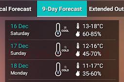 Pusat Observasi Hong Kong, Memprakirakan Suhu Akan Menurun Hingga 11°C