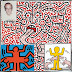 Keith Haring Arts Printable Coloring Pages